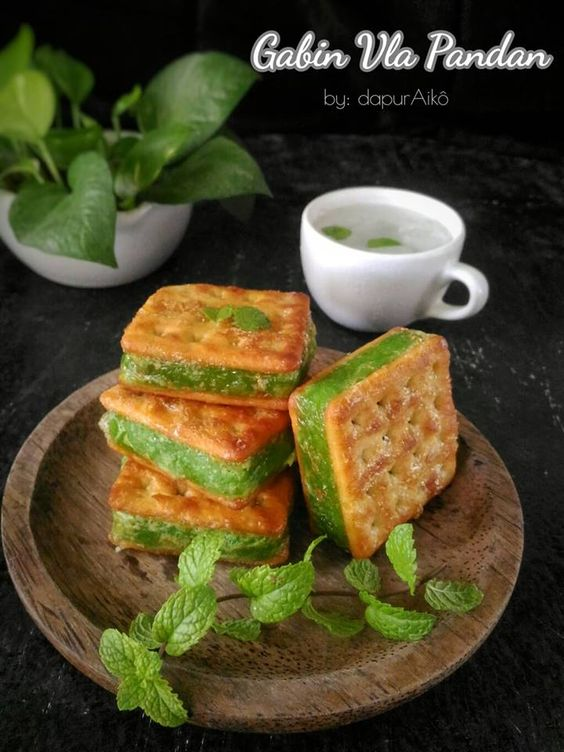 Gabin Vla Pandan By Fitriani S Emnoer Langsungenak Com Resep Ide Makanan Makanan Dan Minuman Resep Makanan