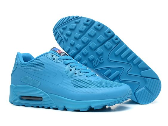 Nike Air Max 90 Hyperfuse Heren Alle Turkoois