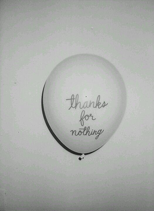 Gracias por nada!