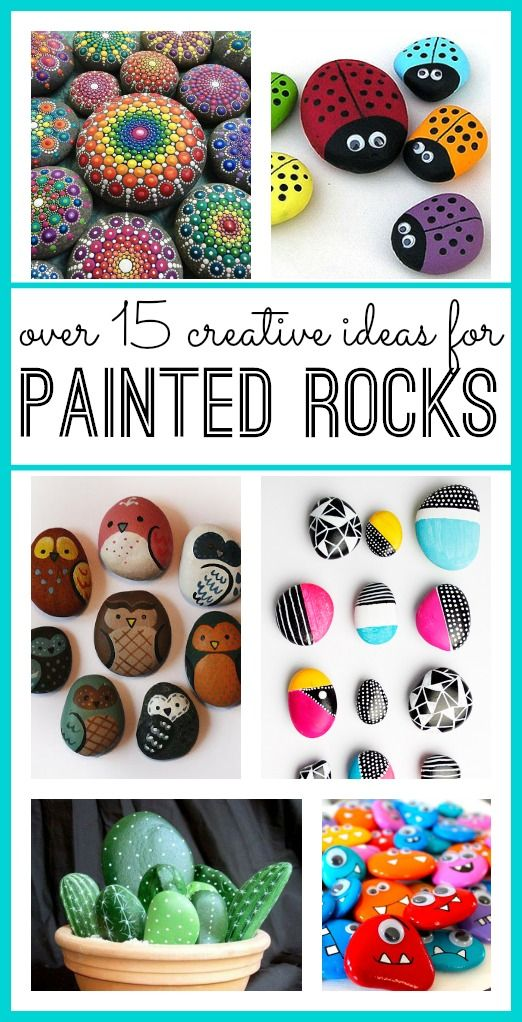 I think that painted rocks are such an awesome creative outlet! There are so many different ways to play with them, and you can find the rocks yourself (so it's cheap!) so these painted rocks are also a perfect kids craft. But I love that you can also make some serious works of art! These …