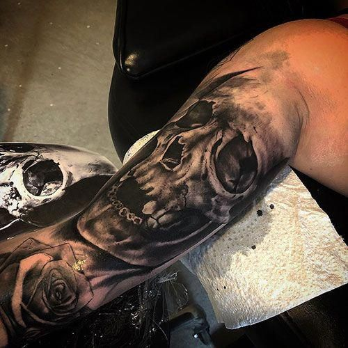 Full Bicep Tattoos Best Bicep Tattoos For Men Cool Inner Arm Tattoo Designs And Ideas For Guys Tattoos Ta Bicep Tattoo Men Bicep Tattoo Inner Bicep Tattoo