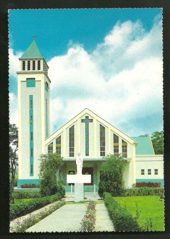 St. Joseph's Church, Baguio City, Philippines 1970s