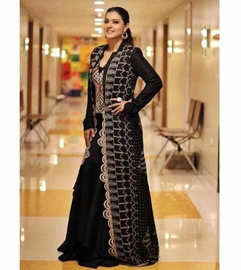 Kajol devgan | Trendy blouse designs, Traditional dresses designs ...