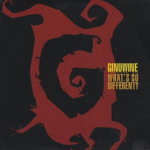 Ginuwine – What's So Different (single cover art)