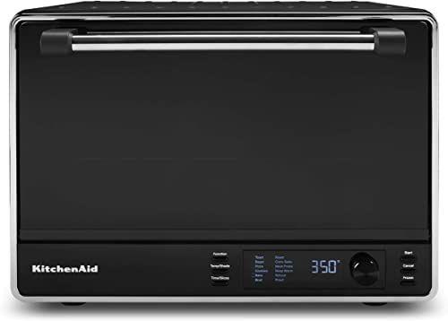 New Kitchenaid Kco255bm Dual Convection Countertop Toaster Oven