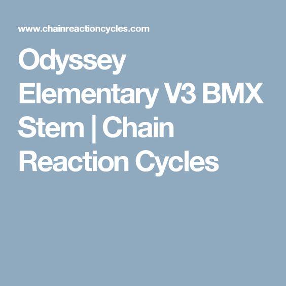 Odyssey Elementary V3 BMX Stem | Chain Reaction Cycles