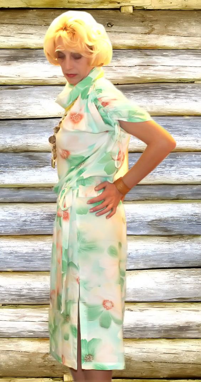 Casual summer smooth sateen dress party dress sun by BANDofTAILORS