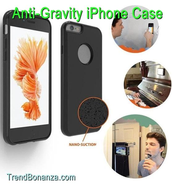 Anti Gravity Selfie Case Touted As The Spider Man Of Iphone Cases Allows You To Stick Your Phone To Any Verti With Images Iphone Cell Phone Cases Anti Gravity Case Iphone