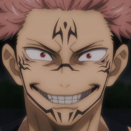 Sukuna Icons Jujutsu Anime Anime Guys