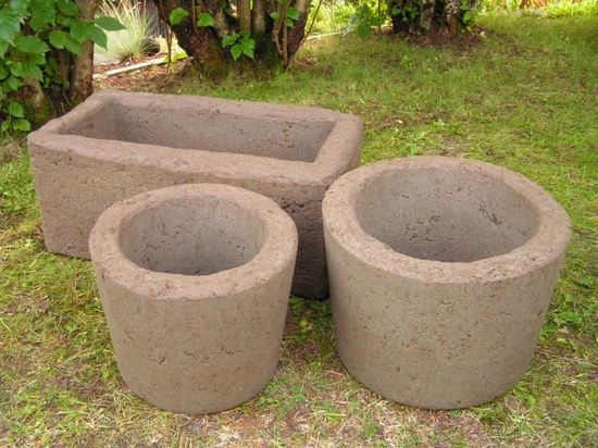 Gardening 39 salem 39 s lot and for the on pinterest - Casting concrete planters ...