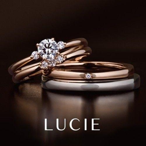ロズレ(薔薇園)(結婚指輪) ID134 | LUCIE(ルシエ) | マイナビウエディング  #engagementrings #marriagerings