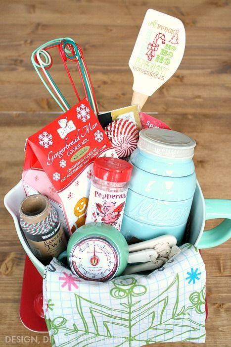 Baking basket | gift ideas | Pinterest | Gift, Basket ideas and ...