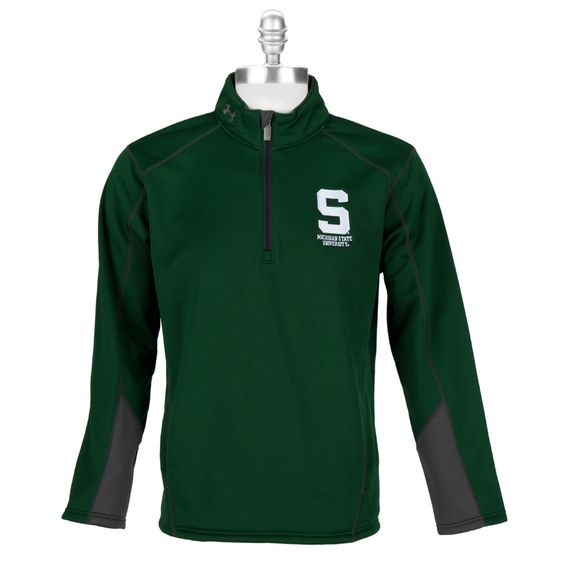 Under Armour® Men's Contemporary Michigan State University Fleece Pullover #VonMaur