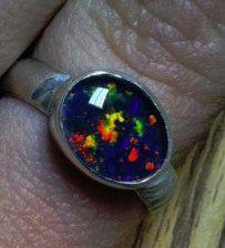 Opal ring. 2nd stone setting i've done.