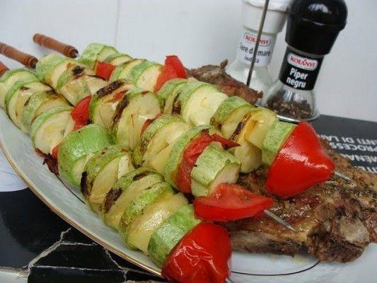 Frigarui de legume la gratar - Culinar.ro