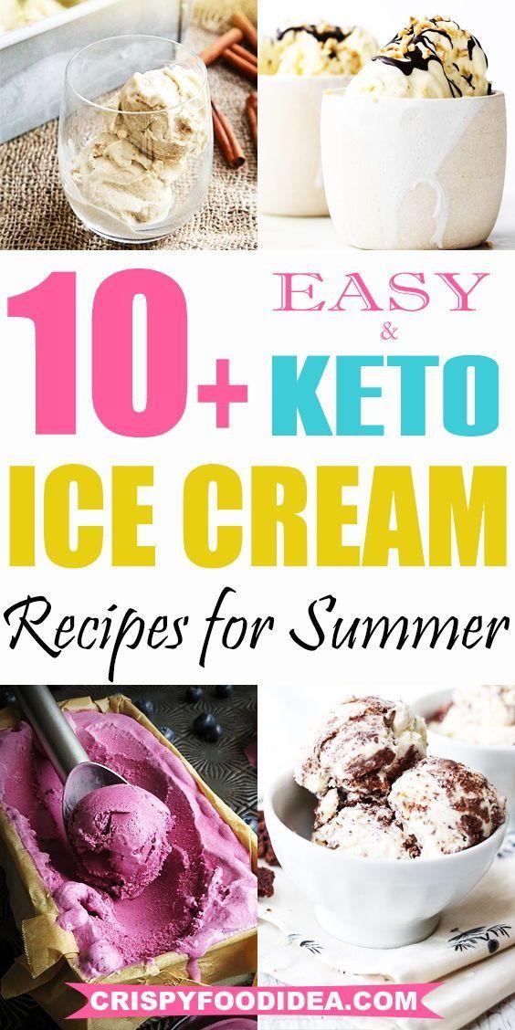 keto ice cream recipes