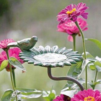 Gartenstab Vogeltranke Zinnie Garten Pflanzen Stabchen