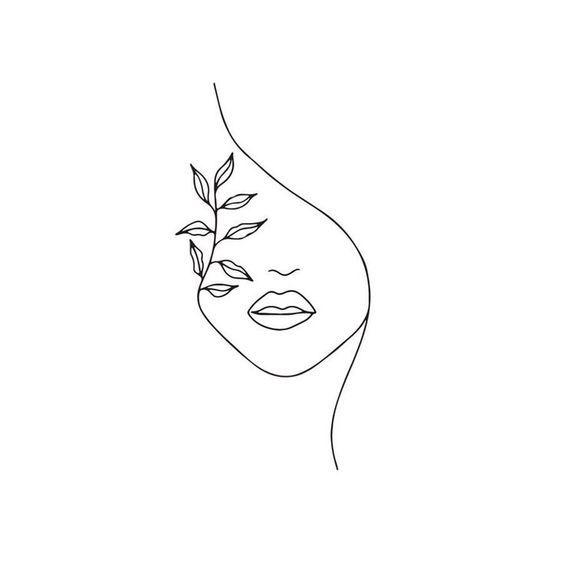Arte De Siluetas Arte De Silueta Dibujos De Arte Simples Dibujos De Contorno