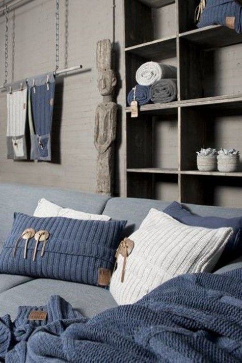 60 Cozy And Soft Knitted Home Decor Ideas | ComfyDwelling.com