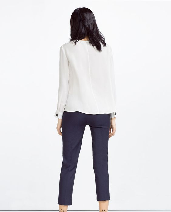 Image 4 of CHINO TROUSERS from Zara