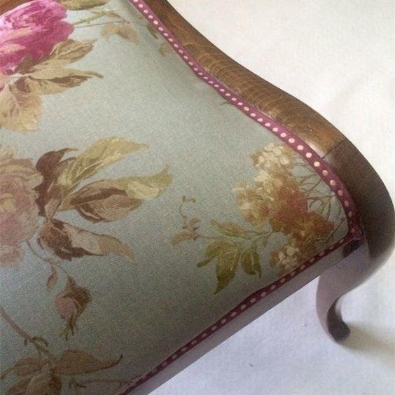 Te gustar a tapizar las sillas del sal n es muy f cil - Telas tapiceria sillas ...