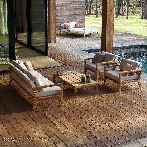 Royal Botania Zenhit Teak Garden Sofa Modern Teak Furniture Teakfurniture In 2020 Teak Furniture Teak Garden Furniture Porch Furniture