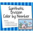 math worksheet : algebra synthetic division color by number  high school students  : Synthetic Division Worksheets
