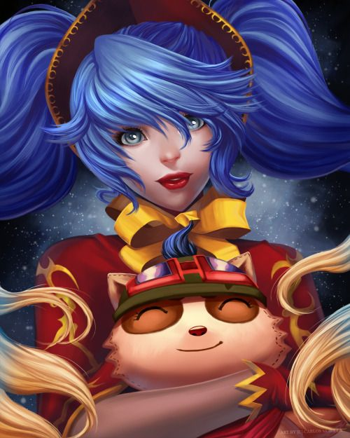 cat-nips: Christmas Sona - League of Legends by CMorilla -... #Leagueoflegends