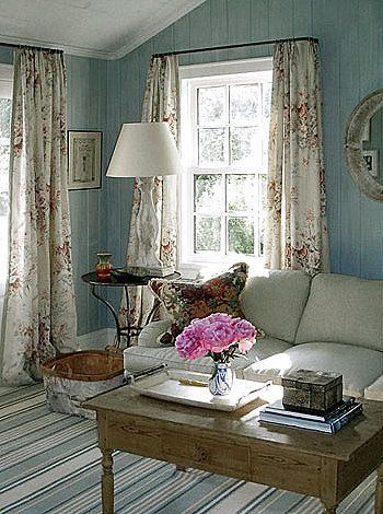 nice cottage style: Livingrooms, Living Rooms, Country House, Wall Color, Anna Wintour, Sitting Room, Cottage Style, Country Cottage