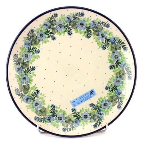 This plate will embellish every meal! See Polish Pottery at http://slavicapottery.com