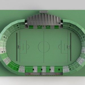 Estádio Couto Pereira Puzzle3D Quebra Cabeça 3D Projeto para Corte a Laser & Router Cnc