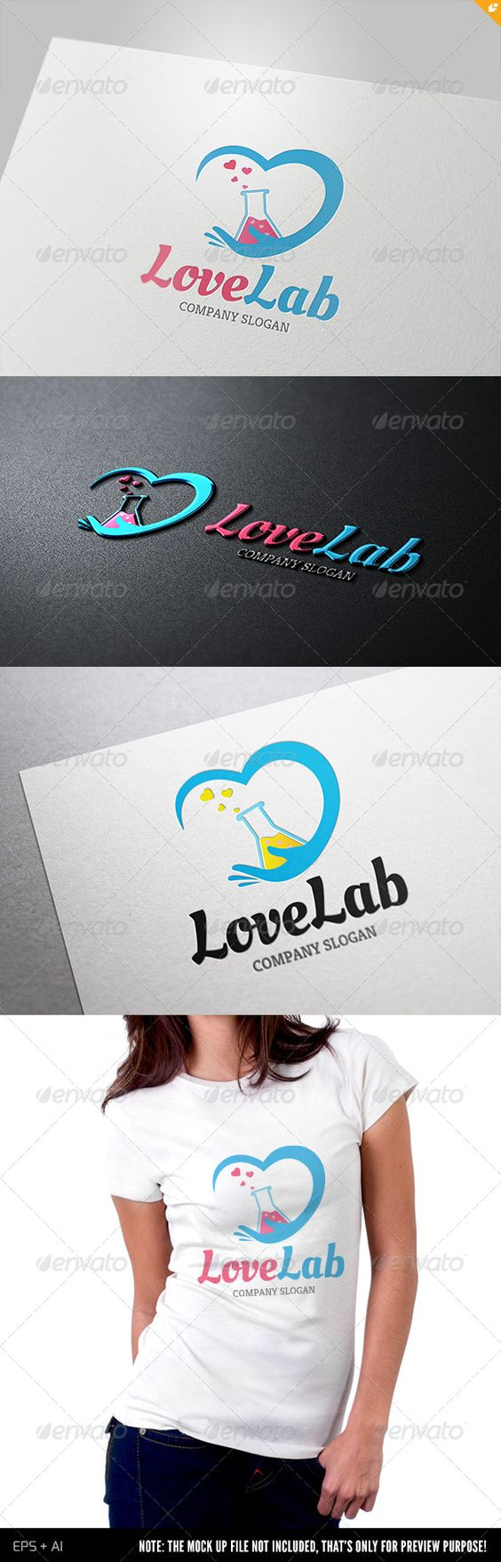 Love Lab Logo - GraphicRiver Item for Sale