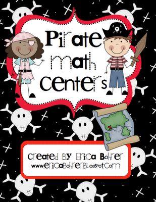 Common Core Pirate Math Centers