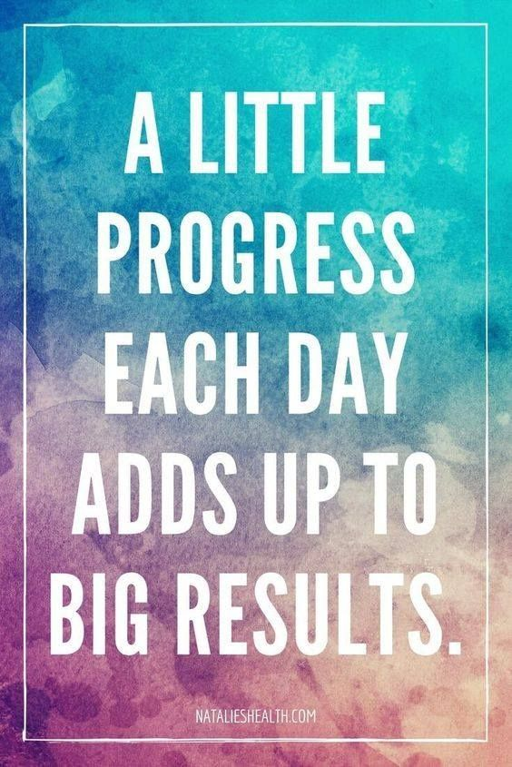 Chipping Away At Things Is The Best Way To Achieve Goals What