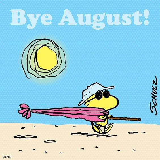 Last day of August.