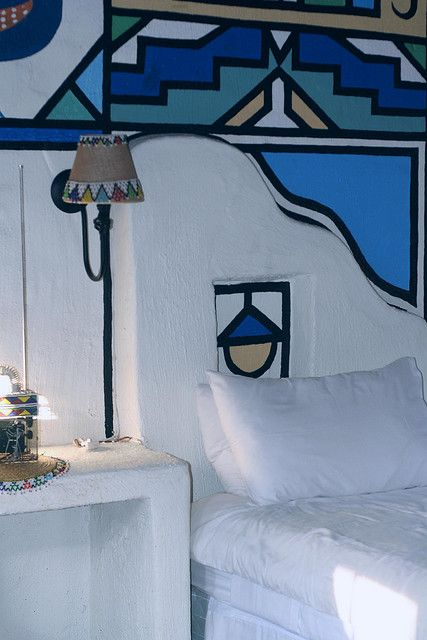 Ndebele lodge, South Africa: