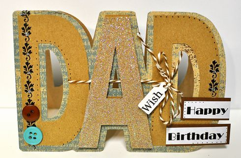 Happy Birthday Dad, card by reaster
