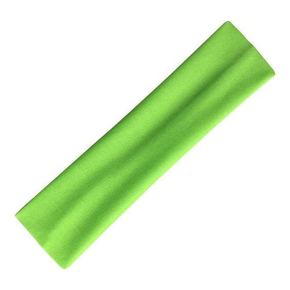 Wholesale Lot of 2400 Headbands Nylon Stretch Fluorescent Green (pre-order)