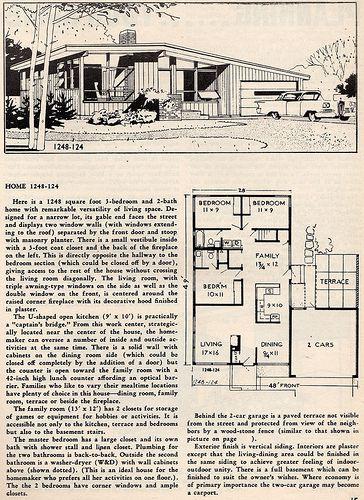 Untitled Modern Floor Plans Vintage House Plans Modern House Plans