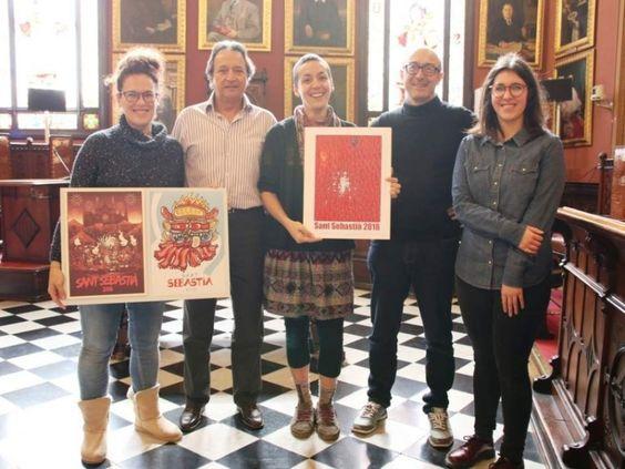 Carteles Sant Sebastia 2018- Ganador y Finalistas