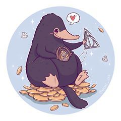 Throwback to this lil' Niffler :3 Everyone prepared for Christmas? (That's celebrating it? )  I'm looking forward to taking a few days off :3 (and eating allll the food) Also this weeks giveaway is over and the winner has been messaged (but there's always next week ) • #Niffler #Nifflers #fantasticbeasts #harrypotter #harrypotterart #cute #kawaii #chibi #instaartist #instaart #instadaily #illustration #illustrationoftheday #digitalart #digitalpainting