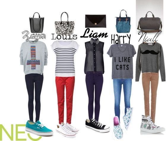 """""""One Direction Girls"""" by neonew ❤ liked on Polyvore"""