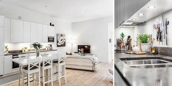 Jurnal de design interior - Amenajări interioare : Amenajare 2 camere în 90 m²