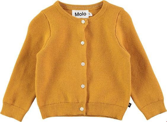 Ginny - Yellow Rock - Curry yellow cardigan