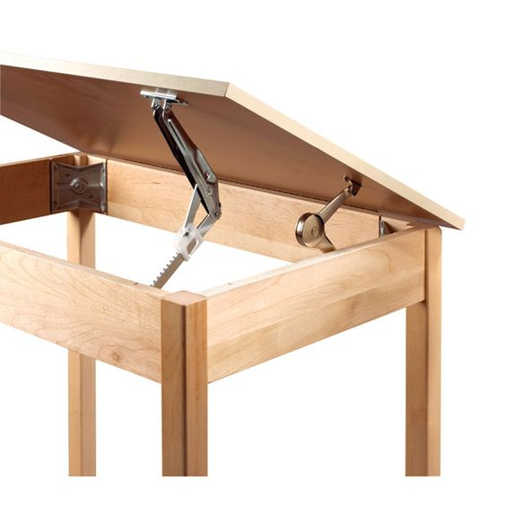 Shain Solutions DraftingArt Table 30 H With Two Piece