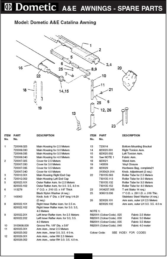 dometic rv awning parts diagram camping, r v wiring, outdoors