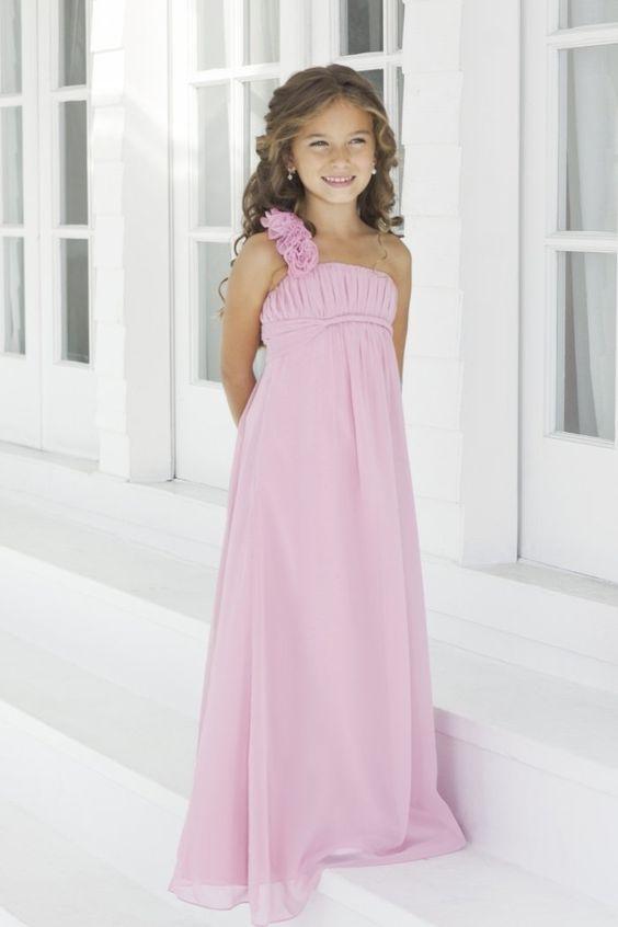 vestidos para niñas damitas de boda gasa vestidos de dama de