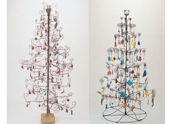 Rbol de alambre d i y pinterest manualidades and - Arbol de navidad de alambre ...