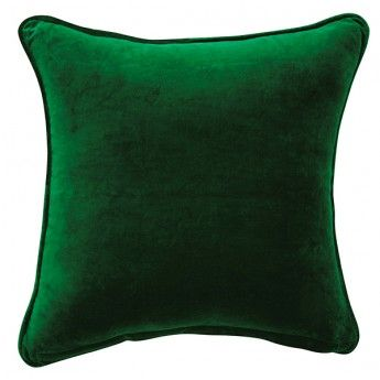 Confetti Velvet Cushion Cover Emerald Green Soft