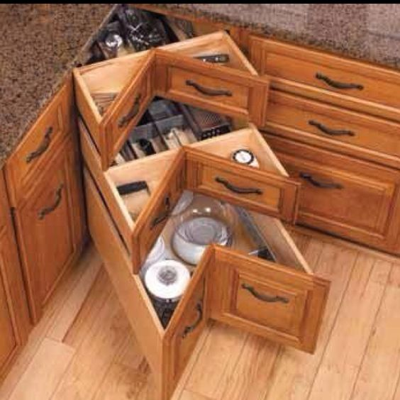 For those who don't like lazy Susan's.
